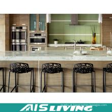 Mobília do armário de cozinha do painel de partículas do MDF para o apartamento (AIS-K434)