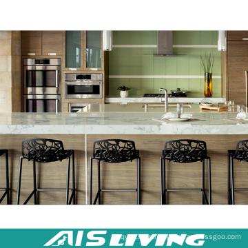 Muebles del gabinete de cocina del tablero de partículas de MDF para el apartamento (AIS-K434)