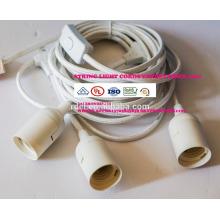 Тяжелый кабель долг 18 гнезд 21 лампы накаливания (3 запасных) винтажный всепогодный для Патио двор сад палуба