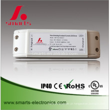 ul ce listed 18w 10-20v 900mA triac dimmable led driver for panel/bulb light