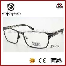 Las lentes ópticas del metal hecho a mano de la manera de los hombres enmarcan los anteojos al por mayor de China