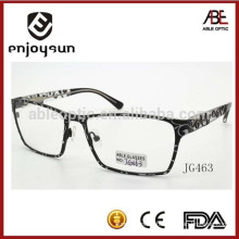 mens fashion handmade metal optical eyeglasses frame China wholesale spectacles