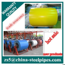 Color Coated Steel Coils,color coating volume PPGI for Roofing Building Supply any RAL Color