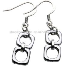 2013 Boucles d'oreille de mode pour bijoux féminins en acier inoxydable hypoallergénique Boucles d'oreilles pendentifs