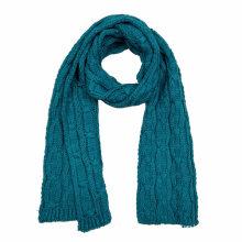 Écharpe lourde de tricot lourd de câble d'hiver fantaisie unisexe de l'espace des femmes (SK159)