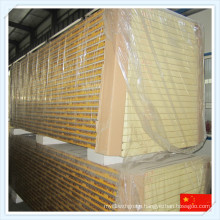 Heat Preservation Fireproof Rigid Polyurethane Sandwich Panel