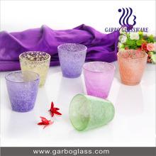Copo de água de 190ml Colorfull Frosted Glass