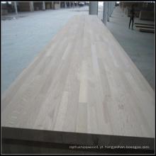 Bancadas de madeira de carvalho selecionadas para uso interno