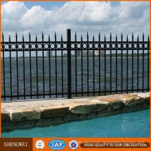 Low Price PVC Galvanized Iron Steel Fence