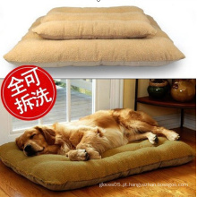 Woolly, Faux camurça com Zipper Pet Cushion