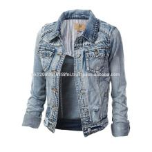 fashion style club wear jeans jacket wholesale