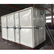 GRP sectional panel water storage tank for hotel
