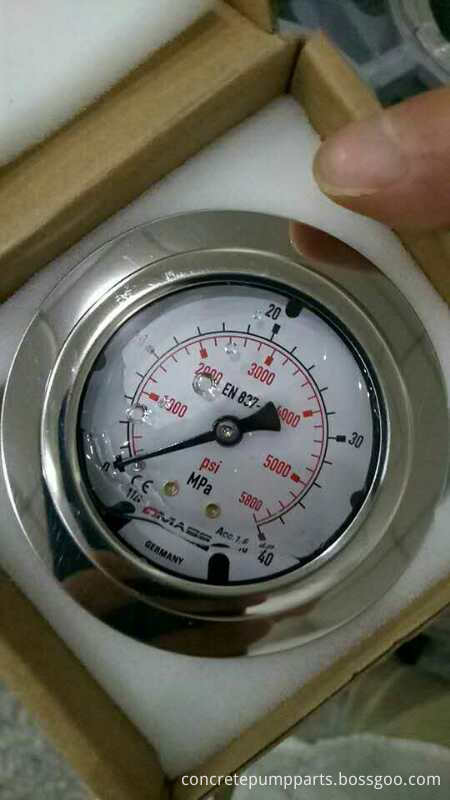 Sany Pressure Text Gauge