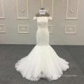 Vestido de noiva sereia vestido marfim luxo bling bodycon sereia vestidos de noiva para as mulheres