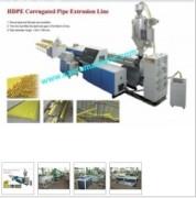 Dây chuyền sản xuất ống sóng nhựa HDPE dự ứng lực