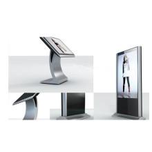 55 Zoll weiße Farbe Werbung LCD Kiosk