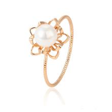 15430 joyería de moda diseño moderno noble anillo de dedo de oro 18k