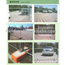 Hohe Qualität temporäre Zäune / Vermietung Zaun / Metallzaun