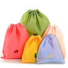 프로모션 재사용 플라스틱 Drawstring 가방 도매