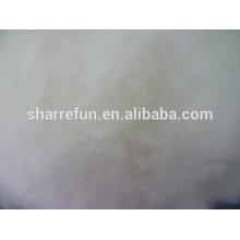 Dehaired y cardado de lana de cordero chino blanco natural con precio de fábrica