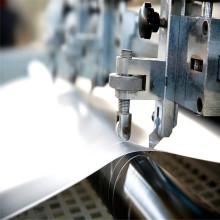 Folha de PVC brilhante branco para impressão offset