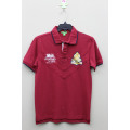 Boy's 100% Cotton Knitted Polo with Embroidery