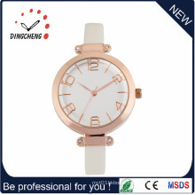 Skillful Design Water Resistant Quartz Watches with Yellow Plating