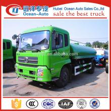Dongfeng 12000Liter agua bowser camión para la venta