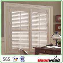 Massivholz-Fensterläden im Büro (SGD-S-5875)