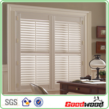 Solid Wood Shutters in Office (SGD-S-5875)
