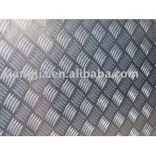 Chapa de aço quadriculada laminada a alta temperatura