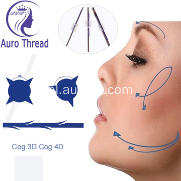 4D Cog Blunt Cannula Pdo Lifting Thread