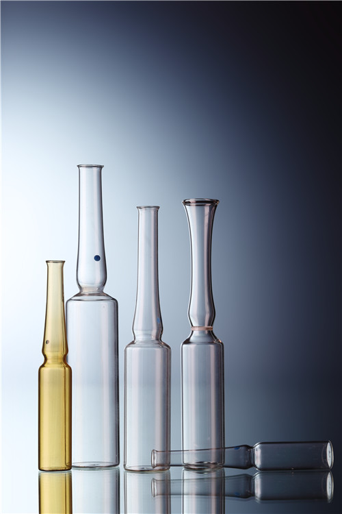Straight-stem Glass Ampoules