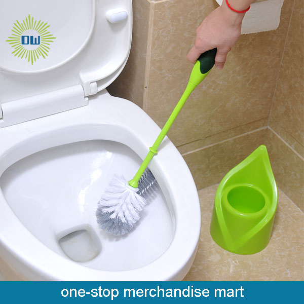 Toilet cleaning brush
