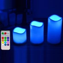 Magic controle remoto LED velas com botão