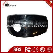 Fresado CNC personalizado de alta precisión de vidrio de carbón Mecanizado, pieza de fresado de vidrio de carbono