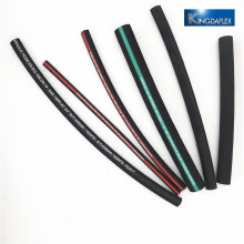 Cover Oil, abrasion and weather resistant synthetic rubber hydraulic rubber hose en 856 4sh 4sp sae 100 r12