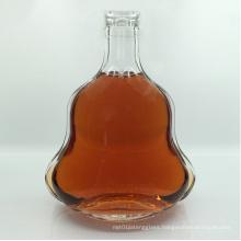 700ml Empty Brandy Bottle with Aluminum Cap Glass Decanter