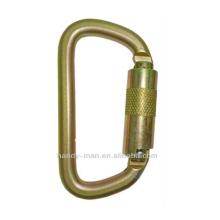 ANSI-2308TL Acier galvanisé à l'or D Crochet de sécurité ANSI