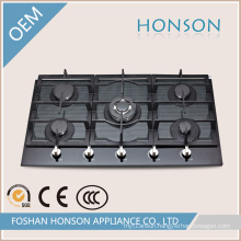 Five Burners Built in Gas Hob with Auto Pulse Ignition
