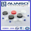 2014 24-400 Tapa de plástico cerrada para tornillo con PTFE Septa de silicona