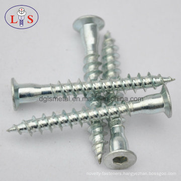 Confirmat Screw Furniture Screw with Sharp Point