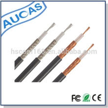 High performance rg59 cctv cable 3c-2v coaxial cable 75 ohm similar to rg59 siamese cable factory price