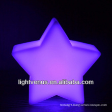 BSCI certified manufactuer direct sale Color Changing star shaped night light