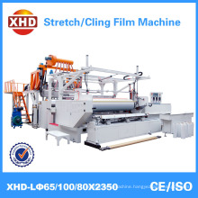 high speed plastic stretch cling film machine model 65/100/80 *2350