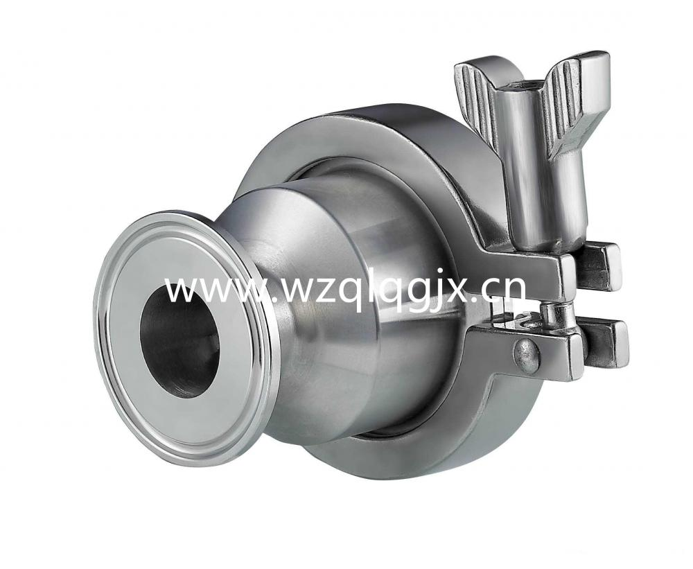 Stainless Steel Tri Clamped Hygienic Checkventil