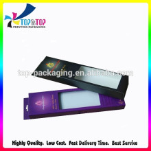 OEM Design Factory Price Hair Extension Packaging Box with Plastic Window