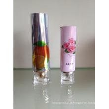 Tubo flexível de ABL com tampa de acrílico para embalagens de cosméticos