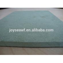 High gloss waterproof MDF price/melamine MDF sheet
