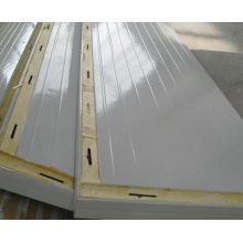Painel de sanduíche do plutônio / painel de parede para a sala de armazenamento frio